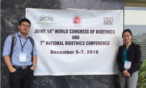 UiTM delegates in 14th World Congress of Bioethics